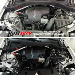 Auto detailing silnika