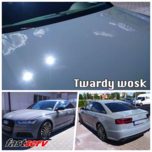 twardy wosk na samochodzie
