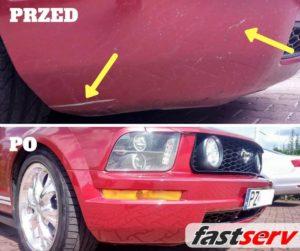 renowacja lakieru ford mustang